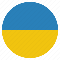 country, flag, national, ukraine icon