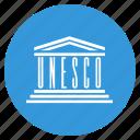 flag, unesco, organisation, united nations icon