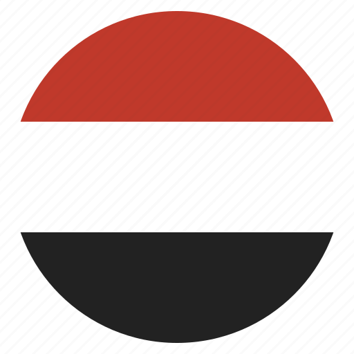 country, flag, yemen icon