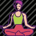 meditate, meditation, yoga, relax, exercise, pose, lifestyle