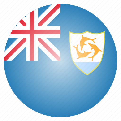 anguilla, country, flag, national icon