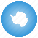 antarctic, antarctica, flag icon