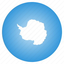 antarctic, antarctica, flag icon