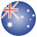 aussie, australia, australian, country, flag, national icon