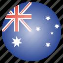 australia, country, national, flag, aussie, australian
