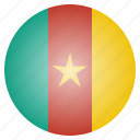 cameroon, cameroonian, country, flag, national