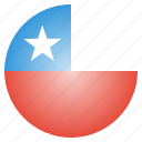 chile, country, flag, national