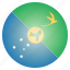 christmas, country, flag, islands, national icon