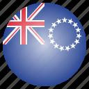 cook, flag, islands