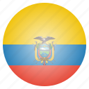 country, ecuador, flag, national