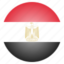 country, egypt, egyptian, flag, national icon