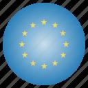 circle, eu, european, flag, union