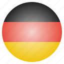 country, flag, german, germany, national