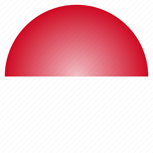 country, flag, indonesia, indonesian, national icon