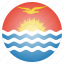 country, flag, kiribati, national