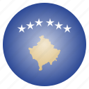 country, flag, kosovo, national