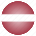 country, flag, latvia, latvian, national icon
