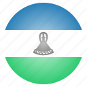 country, flag, lesotho, national