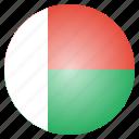 country, flag, madagascar, national