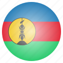 caledonia, country, flag, national, new icon