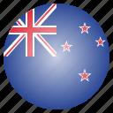 country, flag, kiwi, national, new, zealand