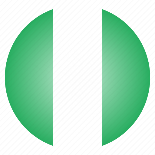 country, flag, national, nigeria, nigerian icon