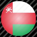 country, flag, national, oman
