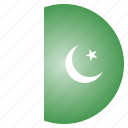 country, flag, national, pakistan, pakistani icon