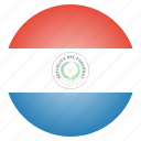 country, flag, national, paraguay