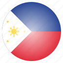 country, flag, national, philippines