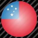 country, flag, national, samoa