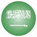arabia, country, flag, national, saudi icon