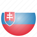 country, flag, national, slovakia, slovakian