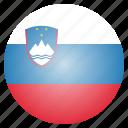 country, flag, national, slovenia, slovenian