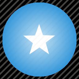 country, flag, national, somalia icon