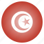 country, flag, national, tunisia, tunisian icon