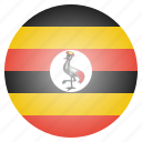 country, flag, national, uganda