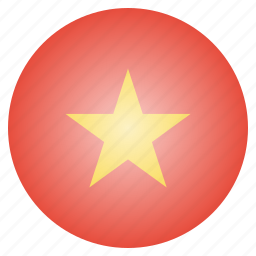 country, flag, national, vietnam, vietnamese icon