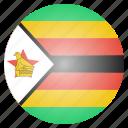 country, flag, national, rhodesia, zimbabwe