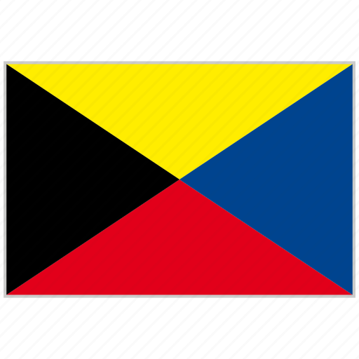 alphabet, international, letter z, maritime, nautical flag, zulu icon