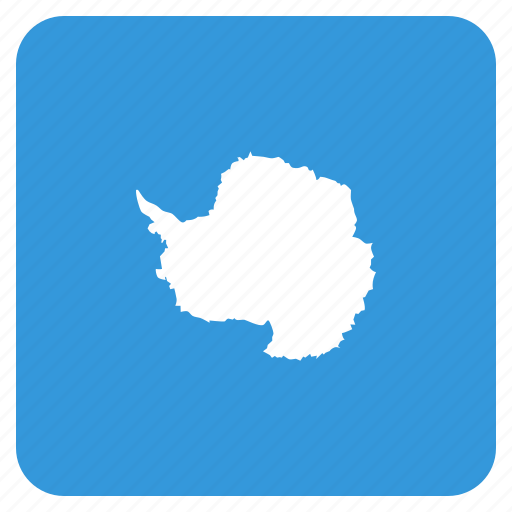 antarctic, antarctica, circle, flag icon