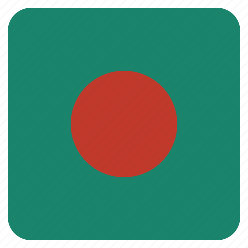 bangladesh, country, flag, national icon