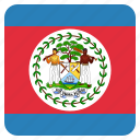 belize, country, flag, national