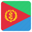 country, eritrea, eritrean, flag, national icon