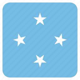 country, flag, micronesia, micronesian, national icon