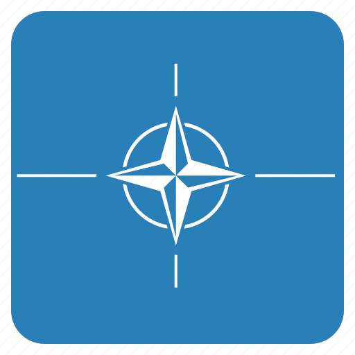 flag, national, nato, organisation, treaty icon