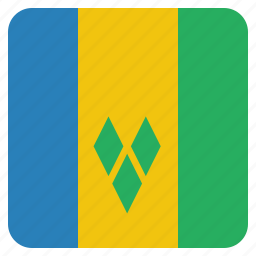 and, country, flag, grenadines, saint, the, vincent icon