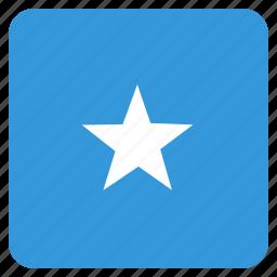 country, flag, national, somalia, somalian icon