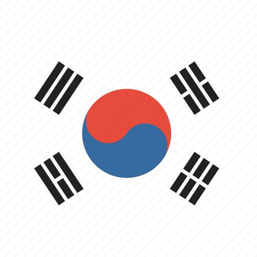 country, korea, korean, national, south icon