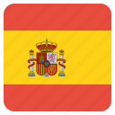 country, flag, national, spain, spanish